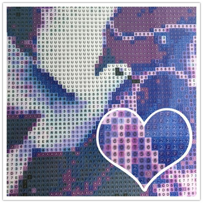 Custom Diamond Painting with YOUR OWN Photo! - ROUND Diamonds - Shimmer Stitch