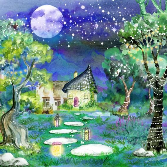 Fantasy Cottage - Shimmer Stitch