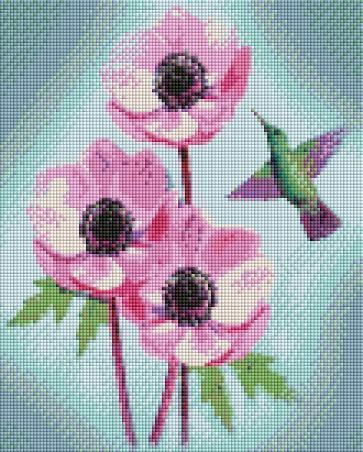 Hummingbird Flight - Shimmer Stitch