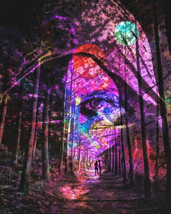 Purple Forest Eye