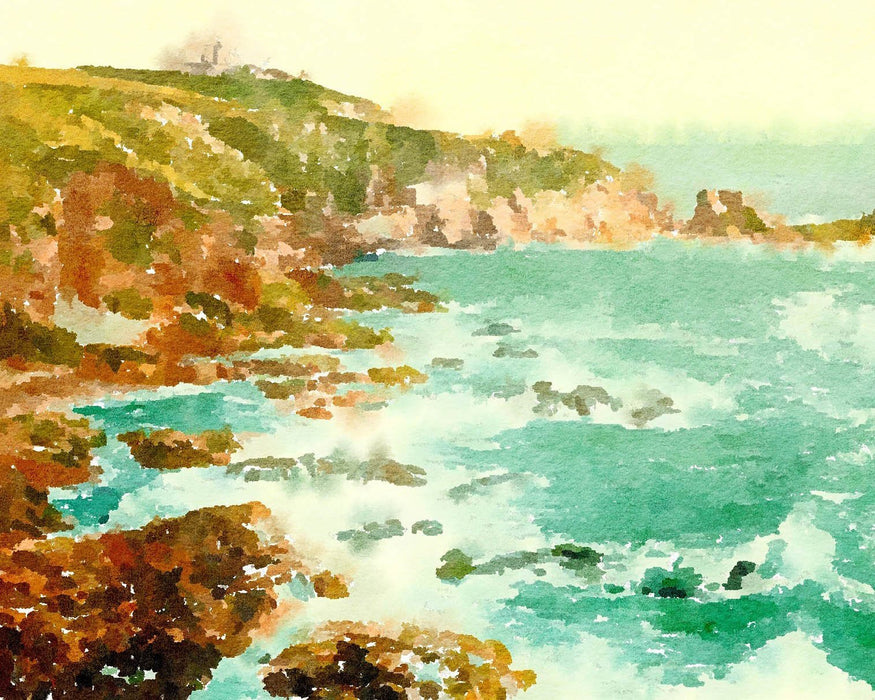 Watercolor Coast