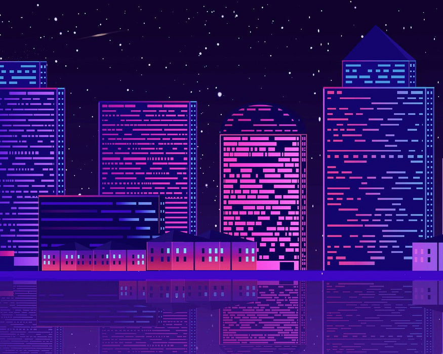 Purple City Lights
