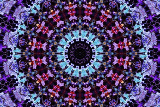 Blue & Purple Mosaic