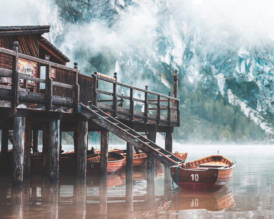 Foggy Boat Cottage