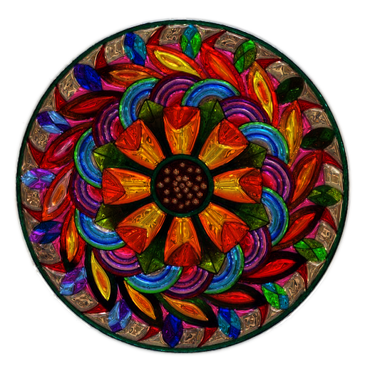 Stained Glass Mosaic 1
