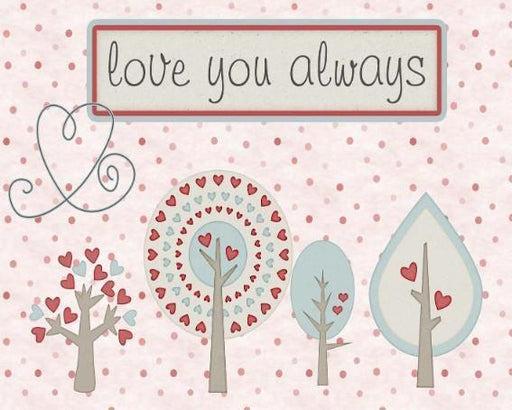 Love You Always - Shimmer Stitch