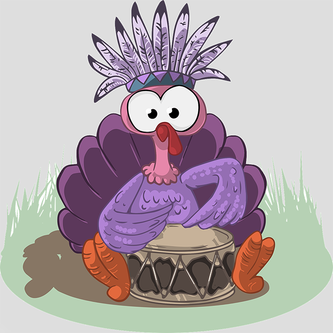 Purple Turkey
