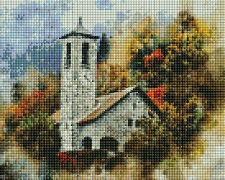 Stone Church (SQUARE Diamonds) - Shimmer Stitch