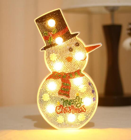 LED Snowman - @ 9 inches tall