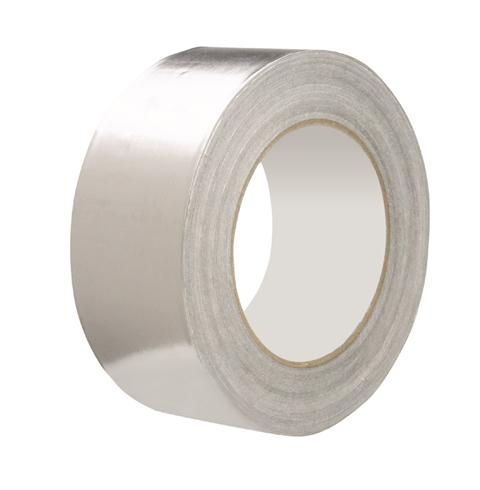 50mm x 45m 40 Micron Aluminium Foil Tape (4 Pack)