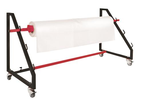 Pacplus Large Shrink Film Roll Holder On Wheels