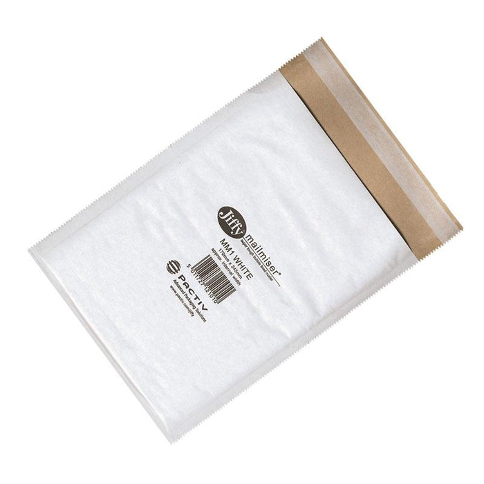 100 Jiffy Mailmiser Bubble Bag MM000 90 x 145 mm - in stock Jiffy Mailmiser Bags