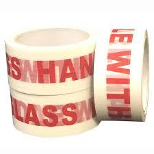 36 x  Glass Handle With Care Message Tape 50mm x 66m