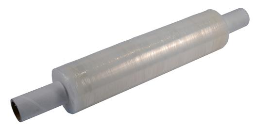 6 x 400mm x 300m 20 Micron Blown Pallet Stretch Wrap - Extended Core - in stock