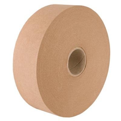 18 x 70 mm wide Non Reinforced Gummed Paper Tape 90 GSM GSO - packaging supplies uk