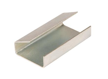 2000 x Semi Open Pallet Strapping Seals 12mm x 25mm - in stock