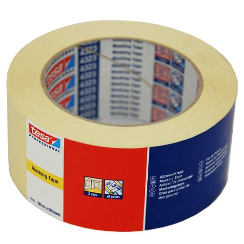 9 x 100mm x 50m Tesa 4323 Masking Tape - in stock Masking Tape