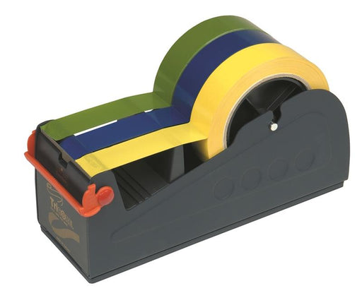 Extra Wide Multi (x3) Roll Bench Top Tape Dispenser - in stock Desktop Tape Dispensers