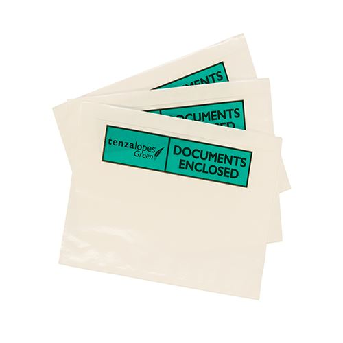 A4 100% Bio Document Enclosed Wallets Plain or Printed x 500