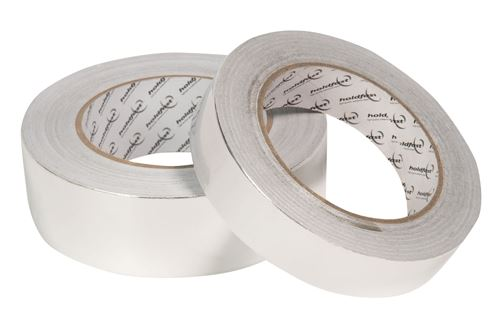 25mm x 45m 30 Micron Aluminium Foil Tape (4 Pack)