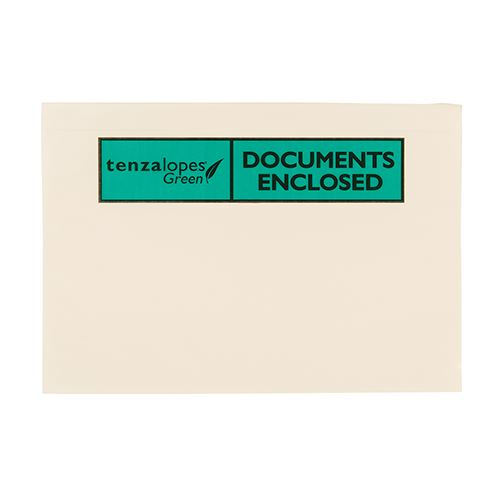 DL 100% Bio Document Enclosed Wallets Plain or Printed x 1000