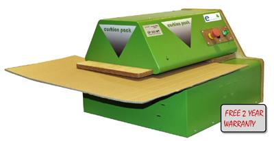 Cushion Packer CP333NTi Cardboard Box Shredding Machine