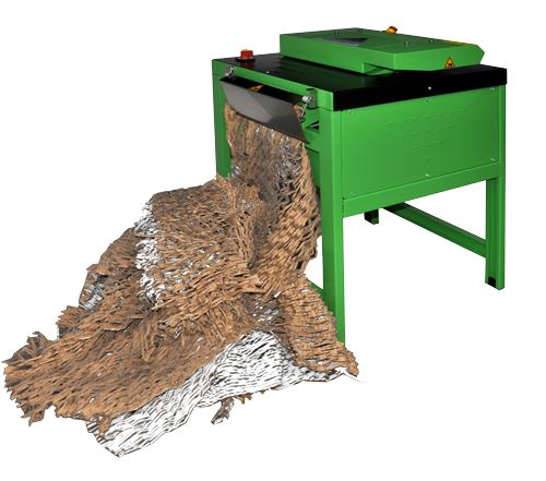 Cushion Pack CP320S2i Cardboard Box Shredding Machine