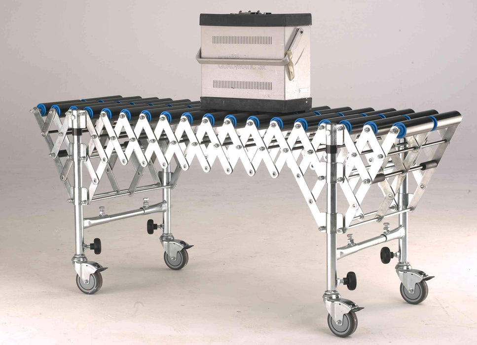 Heavy Duty Flexible PVC Roller Expandable Conveyor