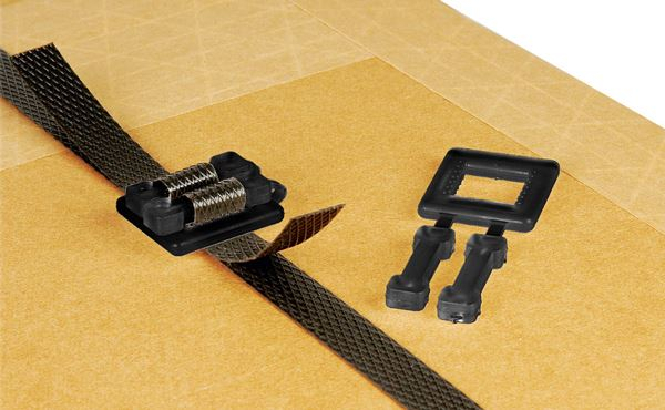 Black Plastic Buckles for Manual Strapping