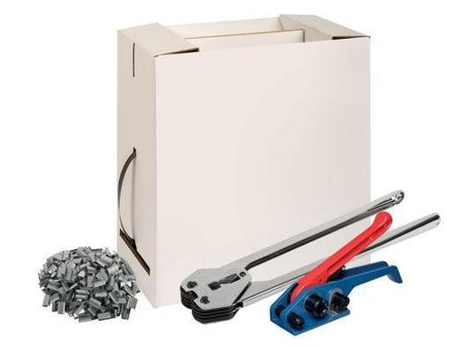 Polypropylene Pallet Strapping And Banding Kit In a Box With a Two Piece Tool