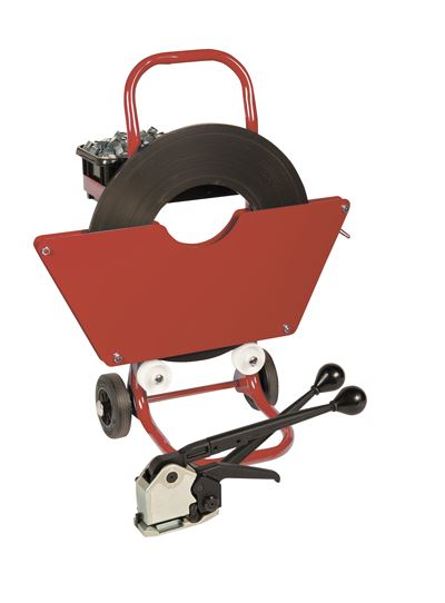 Steel Banding Kit with 19mm Strapping & Seal-less Strapping Tool