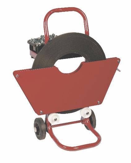 Safeguard® Dispenser Trolley for Ribbon Wound Steel Strapping