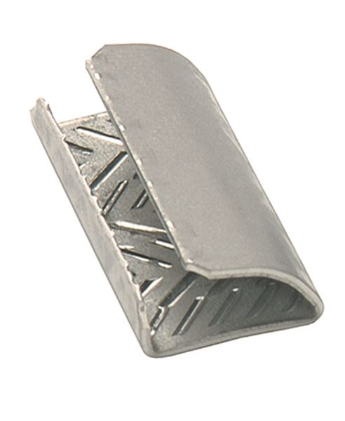 30mm Long x 12mm Serrated Strapping Seals for PP and PET Strapping