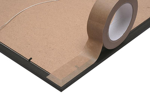 50mm x 50m Self Adhesive Kraft Paper Tape 18 Rolls