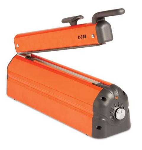 Orange Hacona C220 Heat Sealer Machine