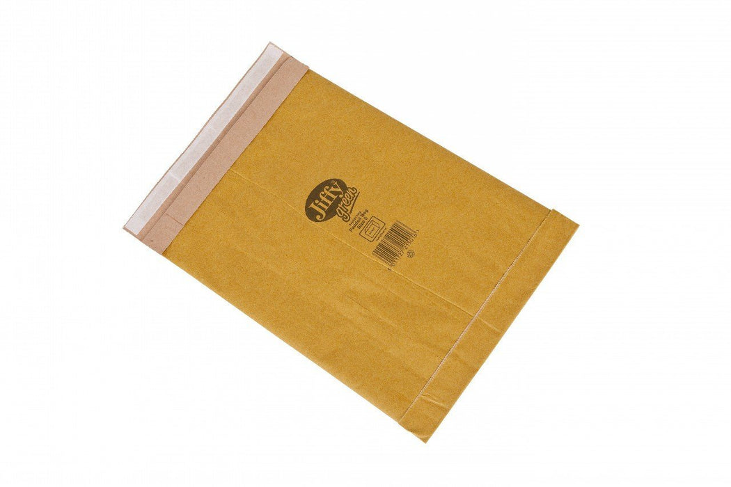 100 Jiffy Original Padded Postal Bag 221 x 350 Size PB4 - in stock Jiffy Padded Bags
