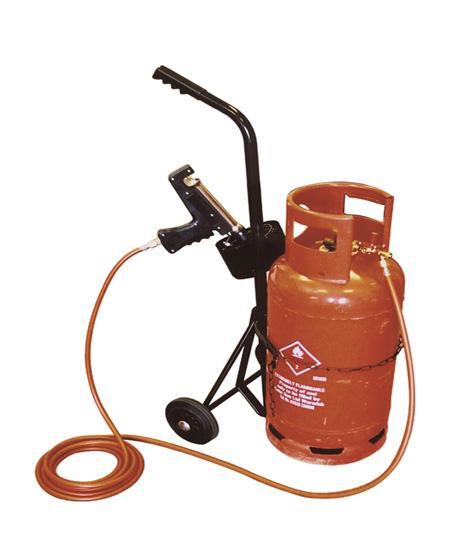 Propane Heat Shrink Gun Gas Bottle Trolley