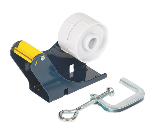 Clamp on Desk Or Bench Dual Packaging Tape Dispenser - in stock