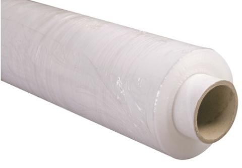 6 x 500mm x 300m 20 Micron Blown Pallet Stretch Wrap - Flush Core