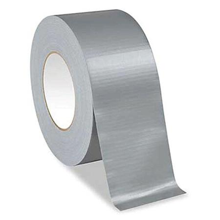 25mm x 50m Silver Cloth Gaffer Tape (4 Pack)