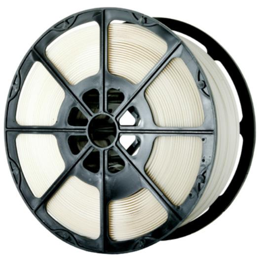 2000m x 12 mm White Polypropylene Pallet Strapping And Banding Tape 145 Kg Breaking Strain - in stock Strapping Reels & Rolls