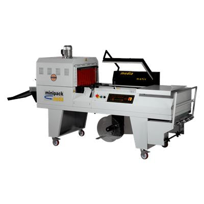 Minipack Torre Media Combination L Sealer And Shrink Wrapping Machine