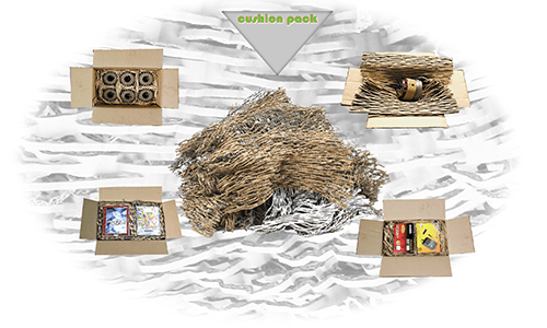 Our cardboard shredded void fill material is perfect for protecting any product