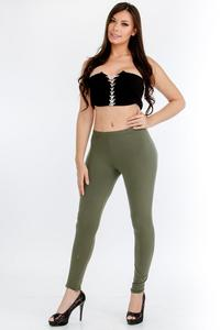 Leggings-Green