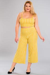 Pants set-Yellow
