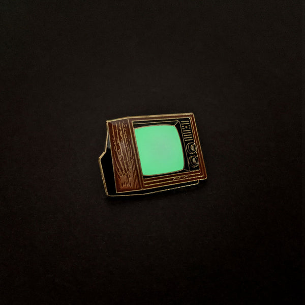 Woodgrain TV Pin