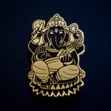 Ganesh Hard Enamel Pin