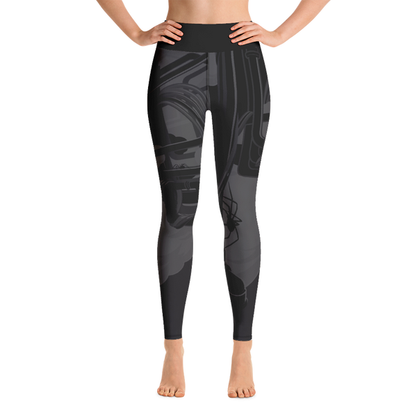 """Itsy Bitsy"" DARK MODE Yoga Leggings"