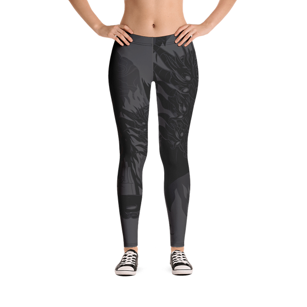 """Kaiju Ink"" DARK MODE Leggings"