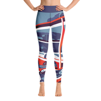 """Futurism"" Yoga Leggings"